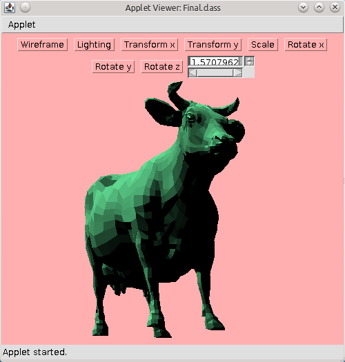 Shaded Cow